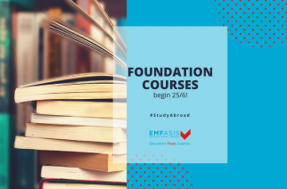 Start of summer foundation courses for foreign universities
