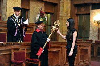 Τελετή ορκωμοσίας των πρωτοετών φοιτητών της Φαρμακευτικής σχολής του πανεπιστημίου Comenius στη Μπρατισλάβα
