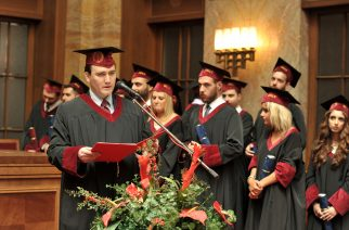 Medicine, Dentistry, Pharmacy, Bratislava, Comenius Unicersity , Slovakia, Ορκωμοσία, Απόφοιτοι