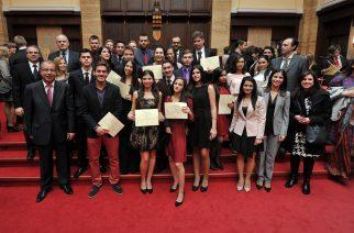 Oρκωμοσία πρωτοετών Ιατρικής και Οδοντιατρικής σχολής του Πανεπιστημίου Comenius στη Μπρατισλάβα