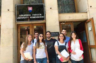 Ιατρική & Οδοντιατρική Σχολή Comenius University στην Μπρατισλάβα – Εγγραφή πρωτοετών 2018-2019