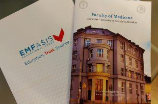 Εισαγωγικές εξετάσεις για το Comenius University στην Μπρατισλάβα