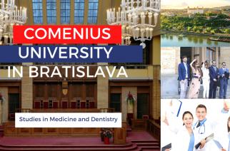 Εισαγωγικές εξετάσεις για την Ιατρική- Οδοντιατρική σχολή του Comenius University στην Μπρατισλάβα 2020